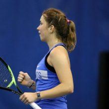 Tenisininkė J. Mikulskytė pergale pradėjo turnyrą Egipte
