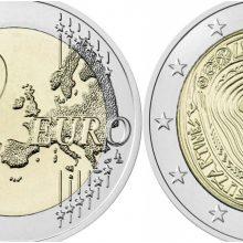 Lietuvos bankas išleido 2 eurų monetą, skirtą sutartinėms