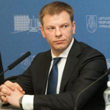 Finansų ministras: dėl lėtesnio NPD didinimo reikės ieškoti kompromiso