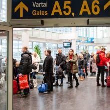 Dėl Norvegijos karių vežtos nepavojingos granatos evakuota dalis Vilniaus oro uosto