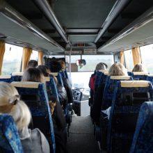 """""""Linava"""": keleivių pervežimas dėl koronaviruso pandemijos praktiškai sustojo"""