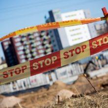 Statybų sektorius pradeda jausti grėsmę: statybininkai gali likti be darbo
