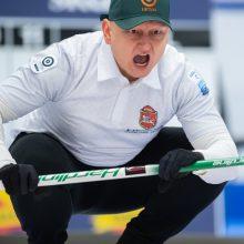 Mišrių dvejetų akmenslydžio komanda stoją į kovą dėl vietos pasaulio čempionate