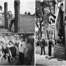 Epochų sandūra: paminklų karuselės ir kvailiojančio meno jaukinimasis