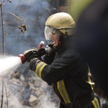 Ugniagesiai sukelti ant kojų: Šalčininkų rajone dega namas