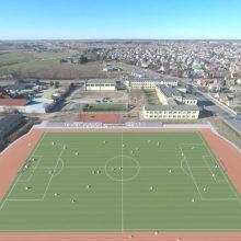Adomo Mitkaus mokykla ir Garliavos bendruomenė turės modernų stadioną