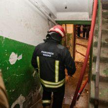 Vilniaus daugiabutyje kilo gaisras: žuvo moteris (atnaujinta)