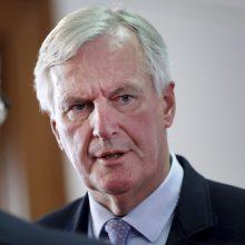 M. Barnier: dabartinė Londono pozicija nesuteikia jokio pagrindo pasiekti susitarimą