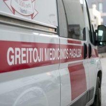 Į ligoninę Klaipėdoje pristatytas vyras su durtine žaizda