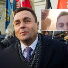 P. Gražulio skandalas su pusnuogiu vyru nuaidėjo tarptautiniu mastu