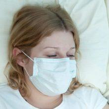 Susirgimų gripu per savaitę beveik nepadaugėjo