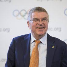 TOK vadovas: Tokijo olimpiada pritrauks žiūrovų