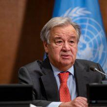 """JT vadovas paragino pasaulio šalis paskelbti """"klimato ekstremaliąją padėtį"""""""