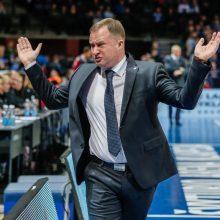 K. Maksvytis negavo rusų leidimo treniruoti Lietuvos rinktinę