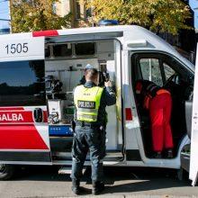 Masinė avarija Panevėžyje: mergaitė ir kūdikis – ligoninėje