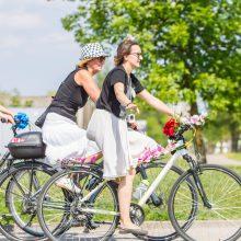 Didmiesčių gyventojai bus skatinami važiuoti dviračiais