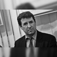 Mirė archeologas, buvęs kultūros viceministras R. Jarockis