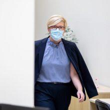 Premjerė: Lietuvoje rasta PAR koronaviruso atmaina, gresia karantino griežtinimas