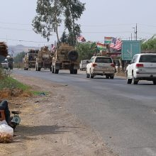 Pentagono vadovas M. Esperas atvyko neskelbto vizito į Iraką
