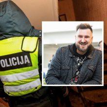 Linksmybes bute nutraukė sostinės pareigūnai: pažeidėjų stojęs ginti G. Jaunius atsidūrė komisariate