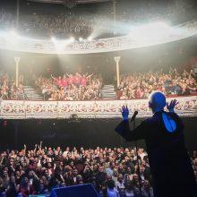 Jazzu triumfavo istorinėje Dublino salėje: būkite sveiki ir mylėkite save