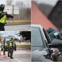 Policija per šventinį savaitgalį patikrino 200 tūkst. automobilių: daugelis turėjo teisę keliauti