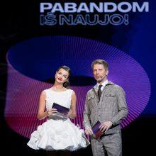 """""""Eurovizijos"""" atranka: paaiškės dar šeši dalyviai, keliausiantys į pusfinalį"""
