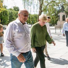 V. Matijošaitis po susitikimo su premjere: norėčiau, kad visas Kaunas atrodytų kaip Laisvės alėja