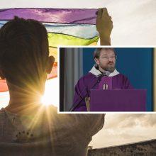 Mišių metu kapelionas rėžė apie LGBT: iškrypėliai mokina mus, kas mes esame