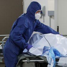 Įtampa Kėdainiuose: mirusiems vietų šaldytuvuose neužteko, jie laikyti tiesiog maišuose