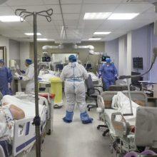 Ligoninėse gydoma per 2,5 tūkst. COVID-19 pacientų, 198 – reanimacijoje
