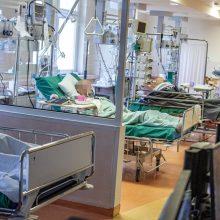 Santaros klinikos: Vilniaus regione užimta 85 proc. COVID-19 pacientams skirtų lovų