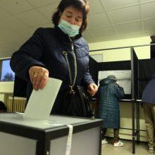 VRK: aktyviausi buvo 55–64 metų rinkėjai