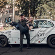 """""""RR Team"""" duetas ruošiasi raliui: esame priversti skolintis automobilį"""