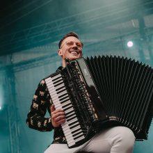 Klasikos gerbėjams – naujas akordeono virtuozo M. Levickio albumas