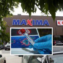 """Koronavirusas nustatytas dar vienam """"Maximos"""" darbuotojui"""