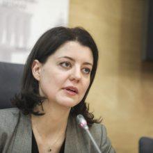 M. Navickienė pritaria Lietuvos banko pozicijai MMA kitąmet didinti iki 703 eurų