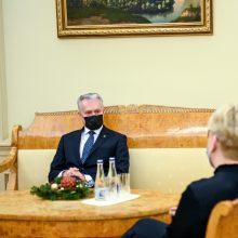 G. Nausėda: atsakomybę už A. Dulkį prisiėmė paskirtoji premjerė