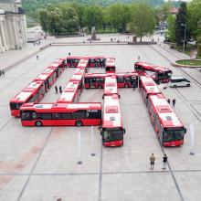 Vilnius per dešimtmetį už 300 mln. eurų atnaujins transporto sistemą