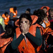 Tragedija Libijoje: nuskendus laivui žuvo 150 migrantų