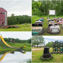 Keistų eksponatų parkas dovanoja nemokamų pramogų
