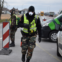 Ieškomas Pasvalio rajono gyventojas pasieniečiams įkliuvo vos įvažiavęs į Lietuvą