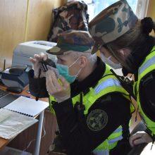 VSAT: vis mažiau atvykstančiųjų iš Lenkijos nepasirūpina privaloma išankstine registracija