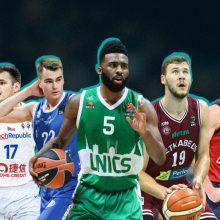 Dešimt Čempionų lygos krepšininkų: juos stebėti bus įdomiausia