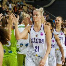 Moterų Europos taurėje – galingas L. Svarytės-Miškinienės dvigubas dublis