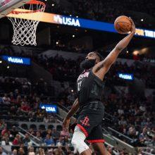 """Rungtynėse – teisėjų klaida: """"Rockets"""" tikisi NBA veiksmų"""