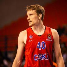 Užtikrintai laimėtame pusfinalyje M. Grigonis buvo rezultatyviausias CSKA krepšininkas