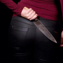 Vilniaus rajone moteris peiliu sužalojo vyrą: jis atsidūrė ligoninėje, įtariamoji ieškoma