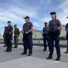 Aštuoni Lietuvos policininkai dalyvaus operacijoje Slovėnijoje prieš neteisėtą migraciją