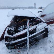 Pirmasis vasario savaitgalis šalies keliuose: žuvo vienas žmogus, sužeista – dešimt